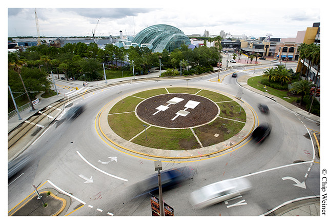 Traffic circle with out Chicken 07-16-2012