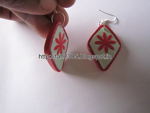 Handmade Jewelry - Paper Punch and Quilling Earrings (2) by fah2305