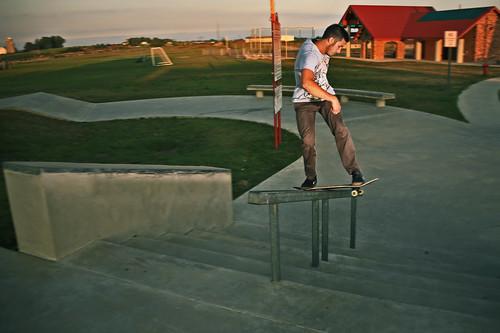 Frontside Boardslide