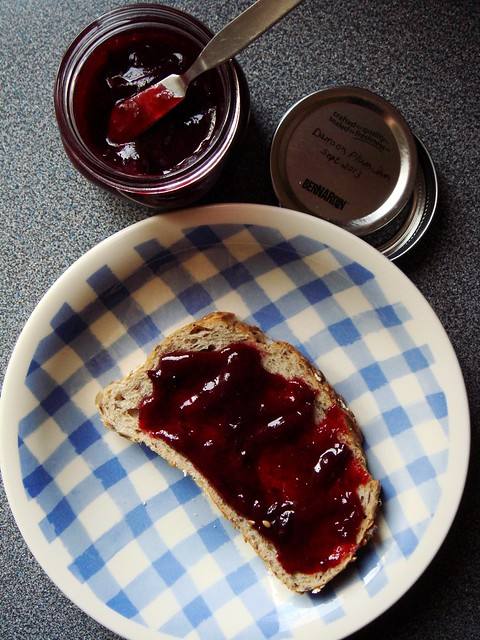 Low Sugar Damson Plum Jam