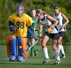 football player(0.0), tackle(0.0), women's lacrosse(0.0), stick and ball games(1.0), sports(1.0), team sport(1.0), field hockey(1.0), player(1.0), ball game(1.0), athlete(1.0), tournament(1.0), team(1.0),
