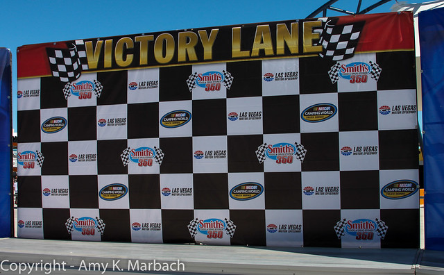 The Smith's 350 Victory Lane- Pre Race