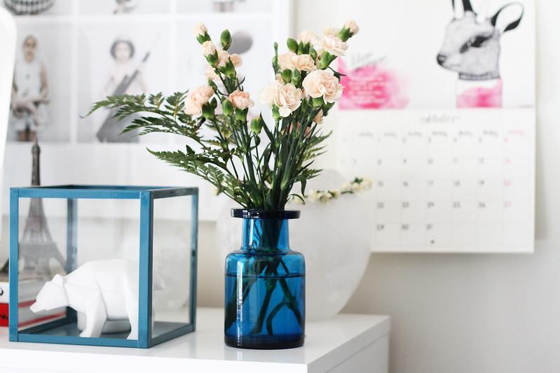 blommor från mamma.
