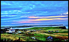 Homage to the Scottish Colourists! Views of Levenwick, Shetland #Shetland#camera+ by davidearlgray