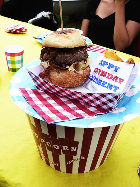 burger et potatoes