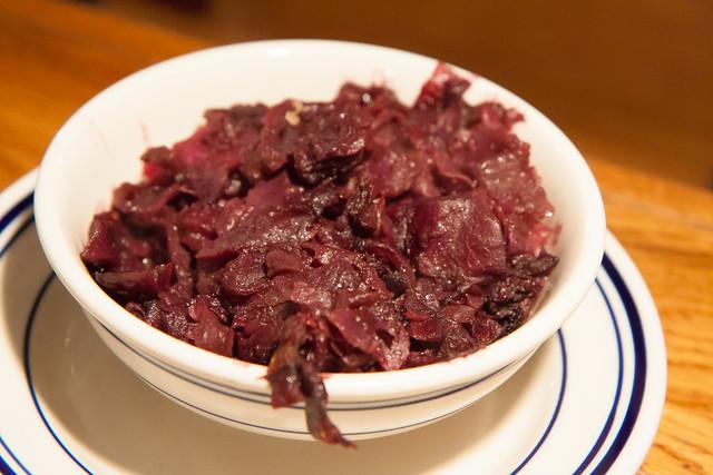Red cabbage, Wechsler's