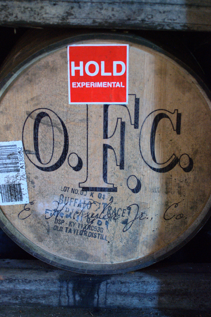 An experimental cask at Buffalo Trace.