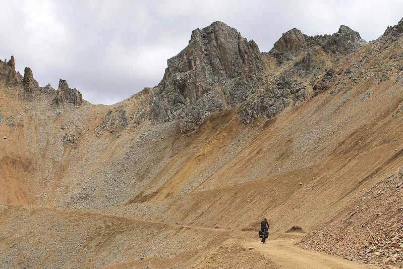 At 4800m on the climb to Punta Pumacocha