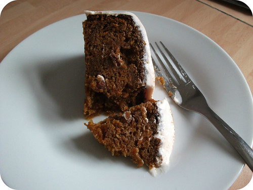 Carrot Cake Recipe Slice