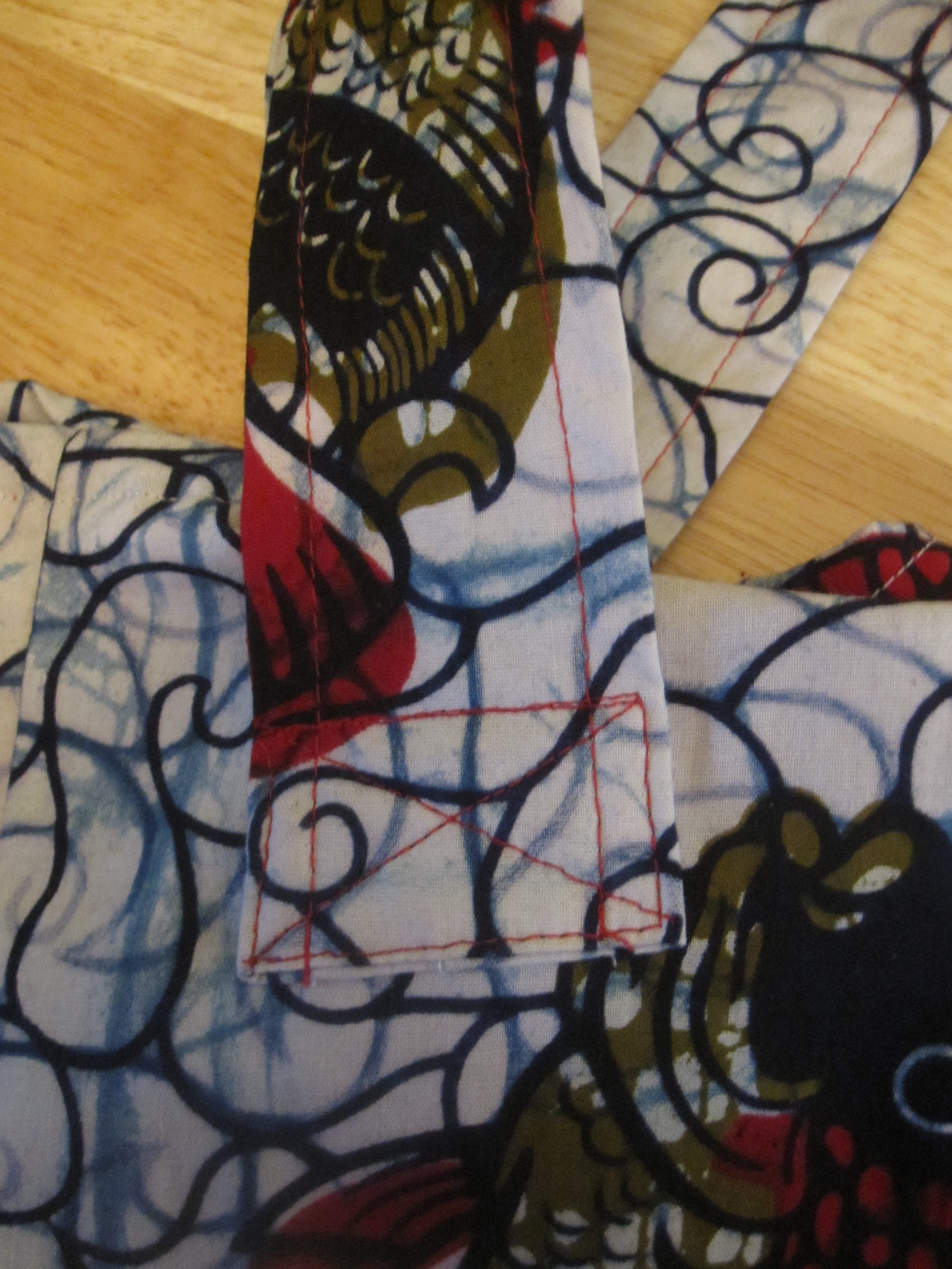 Sew Straps With X