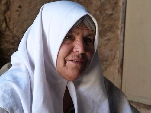 Mujer de Meymand (Irán)
