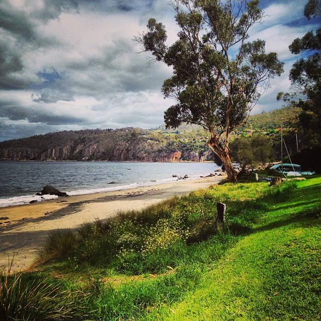 Our magic beach #home #tasmania #instatassie