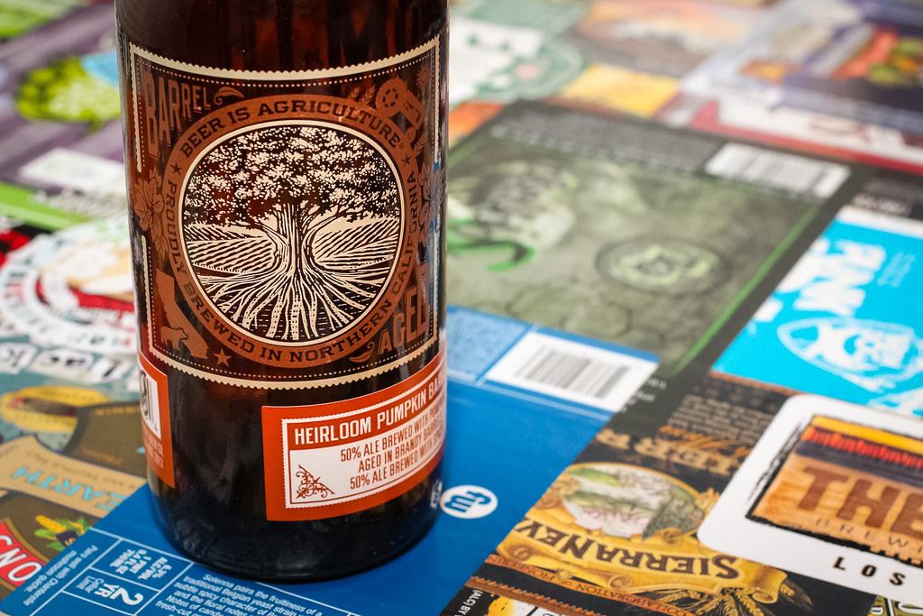 New Brew Thursday : Heirloom Pumpkin Barleywine : Almanac Beer Co.
