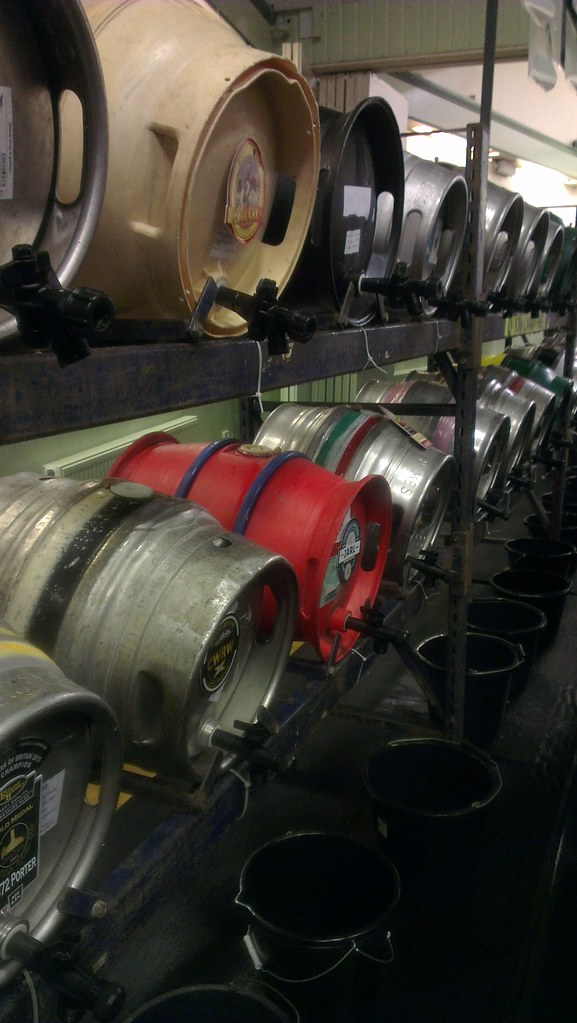 A selection of casks