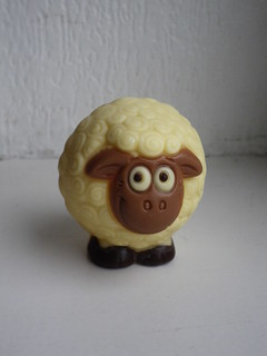 Chocolate sheep from Bruges