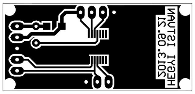 I2C SR04 sensor board layout - Darrell Abbott - Flickr