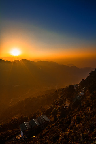 morning sun sunrise canon hill 7d mussoorie