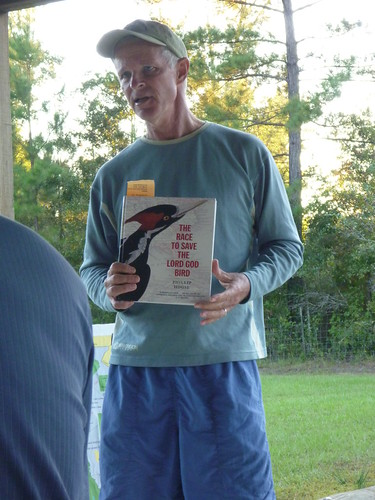 Todd Engstrom recounts his search for the ivory billed woodpecker along the Apalachicola River.