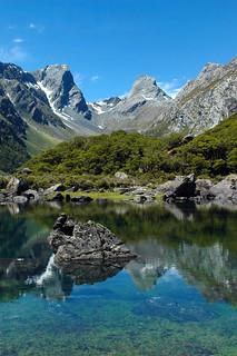 Lake Mackenzie, Routeburn Track, Otago/Fiordland, New Zealand