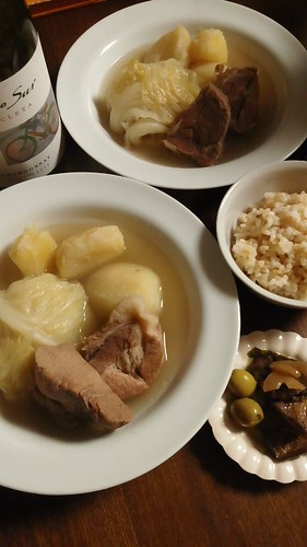 塩豚のスープ by nekotano