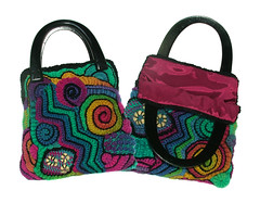 Freeform Handbag - Rainbow 1