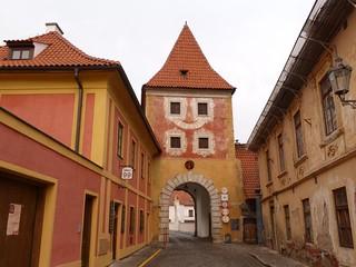 Puerto de Cesky Budejovice en Cesky Krumlov