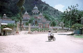 Chau Doc 1973 - Chùa Tây An (Núi Sam) - 1973