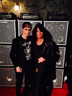 Miles Schuman and Rudy Sarzo