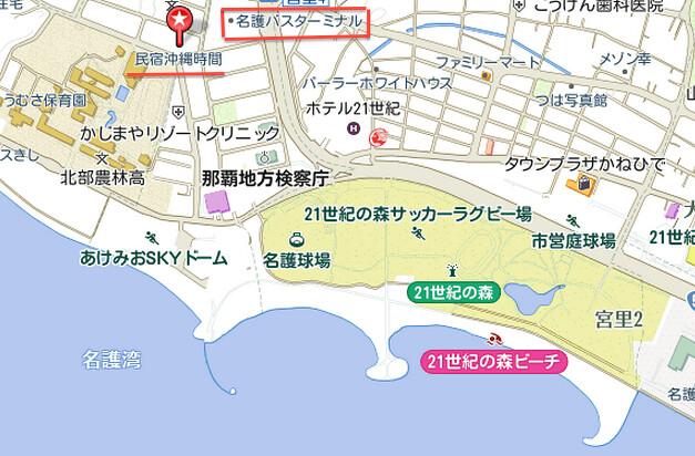 名護map