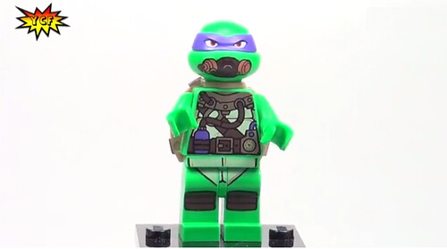 LEGO Teenage Mutant Ninja Turtles 2014 Turtle Sub Undersea Chase (79121) - Donatello