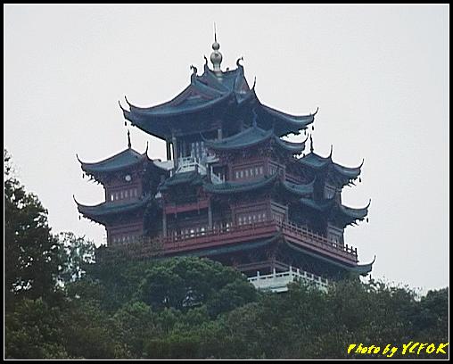 杭州 吳山天風景區 - 079 (城隍閣 從吳山天風廣仰望城隍閣)