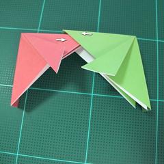 วิธีพับกล่องของขวัญแบบโมดูล่า (Modular Origami Decorative Box) โดย Tomoko Fuse 027
