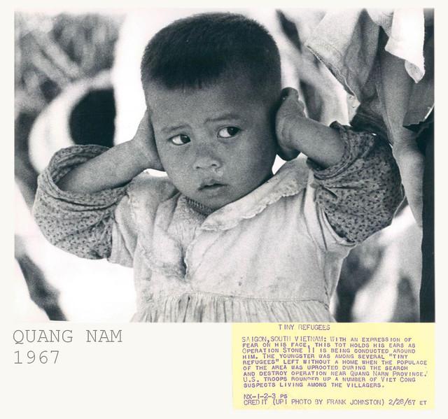 1967 Quang Nam - TINY REFUGEES
