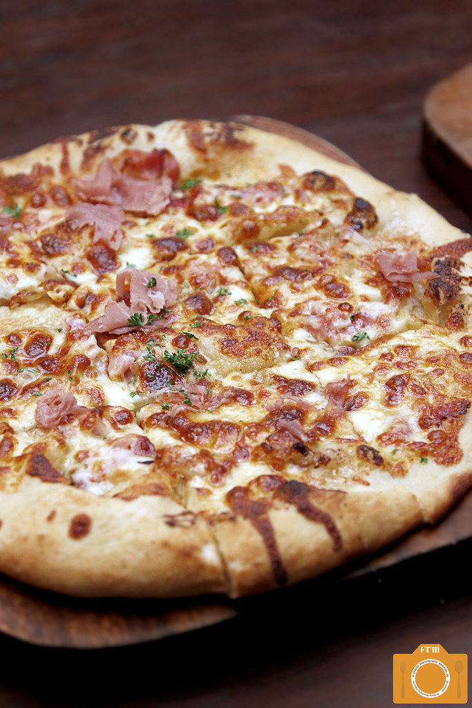 OTKB Bacon and Maple Pizza
