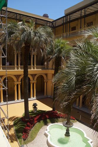 047 Casa Rosada binnen