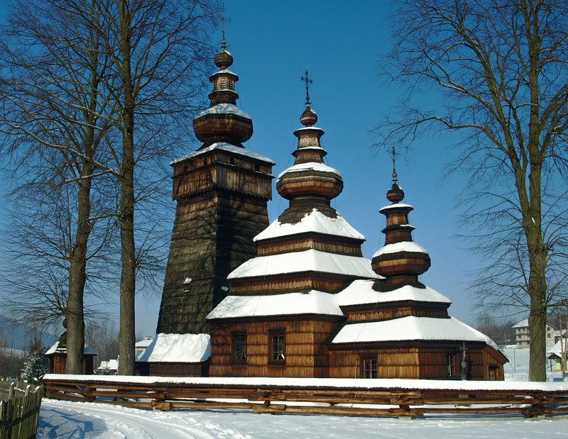 Wooden churches Poland