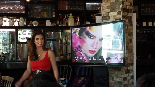 Maybelline Think Ink Color Tattoo event at sunshine kitchen