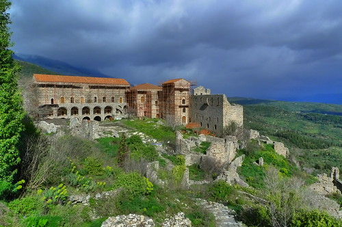 Palaces - Mystras - Sparta, Greece