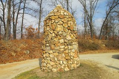 Old Tri-Point Cairn Monument (Cherokee County, Kansas; Newton County, Missouri; and Ottawa County, Oklahoma)