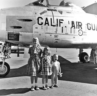 Van Nuys 1958. Dads airplane...
