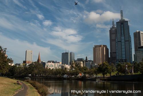 Melbourne Skyline - Melbourne, Australia, 2014