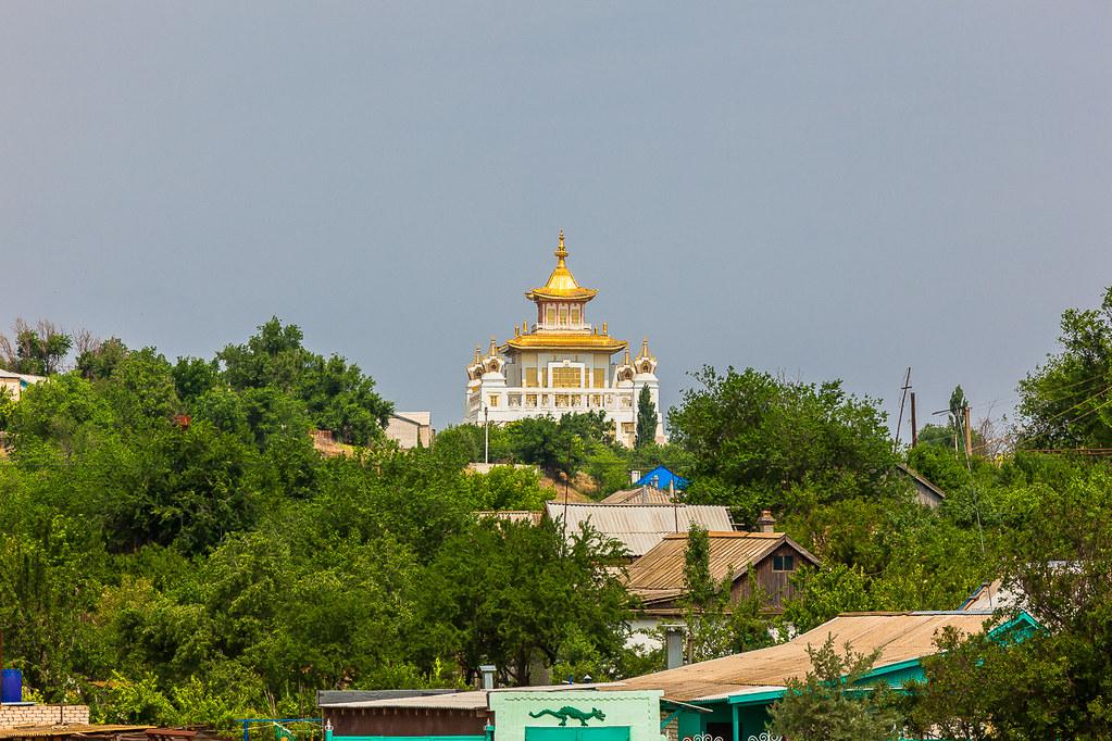 Russia. 13.06.2009 Elista. The Golden Abode of the Buddha Shakyamuni-007