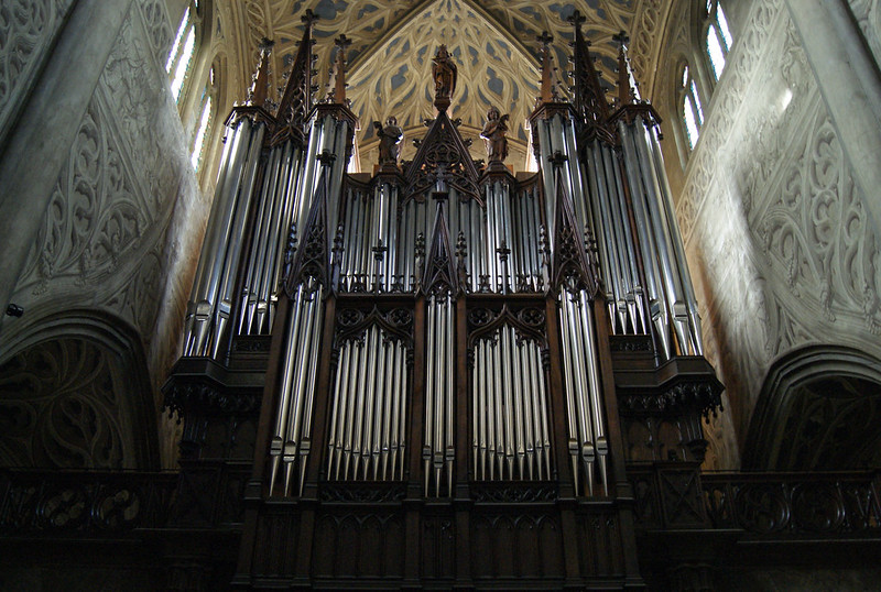 Le grand orgue de la cathédrale Saint-François-de-Sales