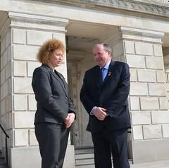 DCAL Minister Carál Ní Chuilín met with GAA President Liam O'Neill at Stormont