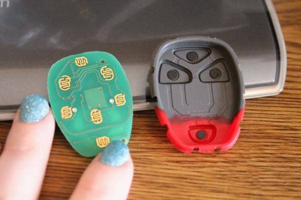 DIY Car remote repair, 2