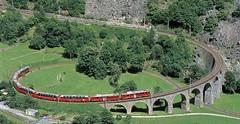 Bernina Express– od ledovců kpalmám