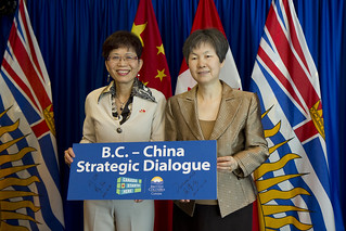 China and BC sign agreement to increase trade and investment links