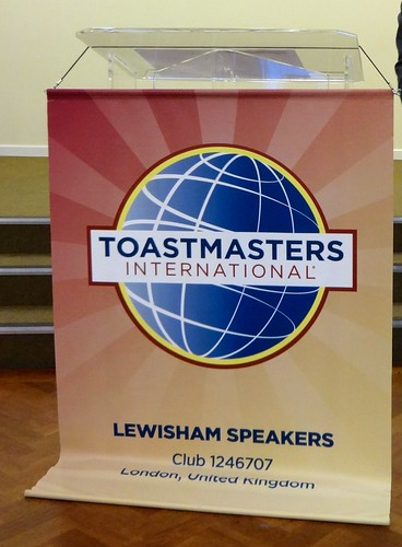 Lewisham Speakers Toastmasters New Banner