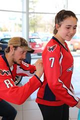 Jay Beagle Autographs at Sport Chevrolet