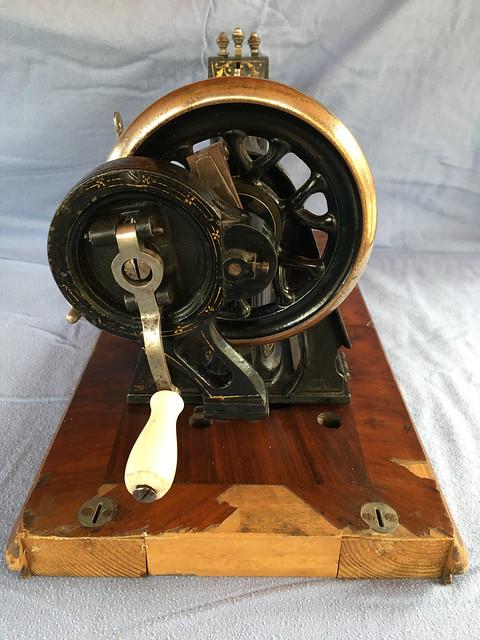 Antique Handcrank Sewing Machine